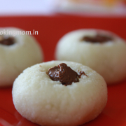 Sandesh with Nutella
