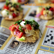 Sev Papdi | Indian Chaat Recipe