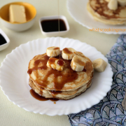 Eggless Pancakes Recipe | easy Breakfast recipe