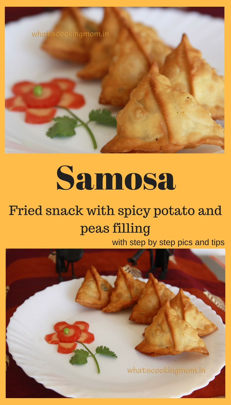 Samose - #samosa #teatimesnack #deepfriedsnack #vegetarian #indianstreetfood #traditionalfood