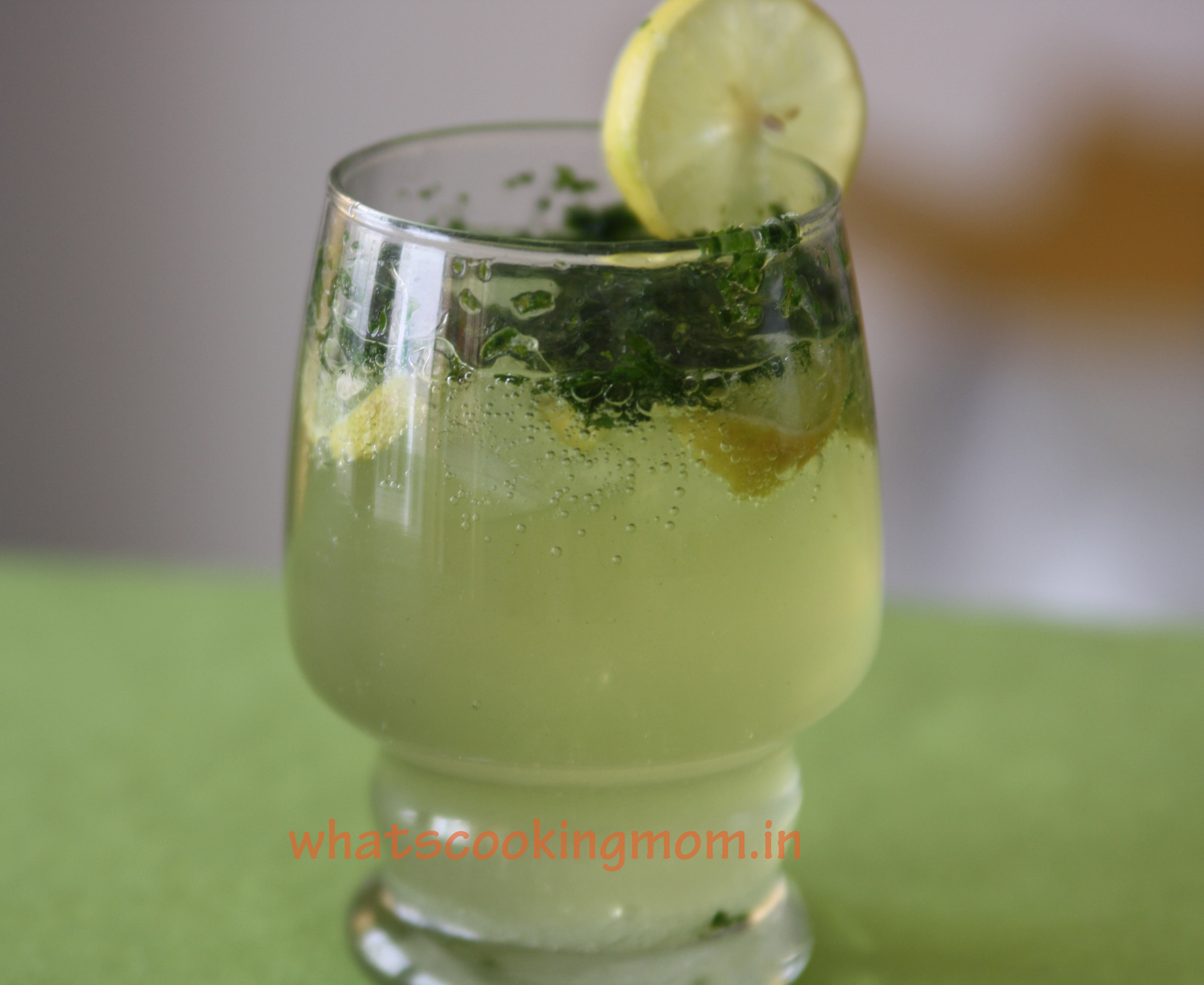 lemon orange mocktail