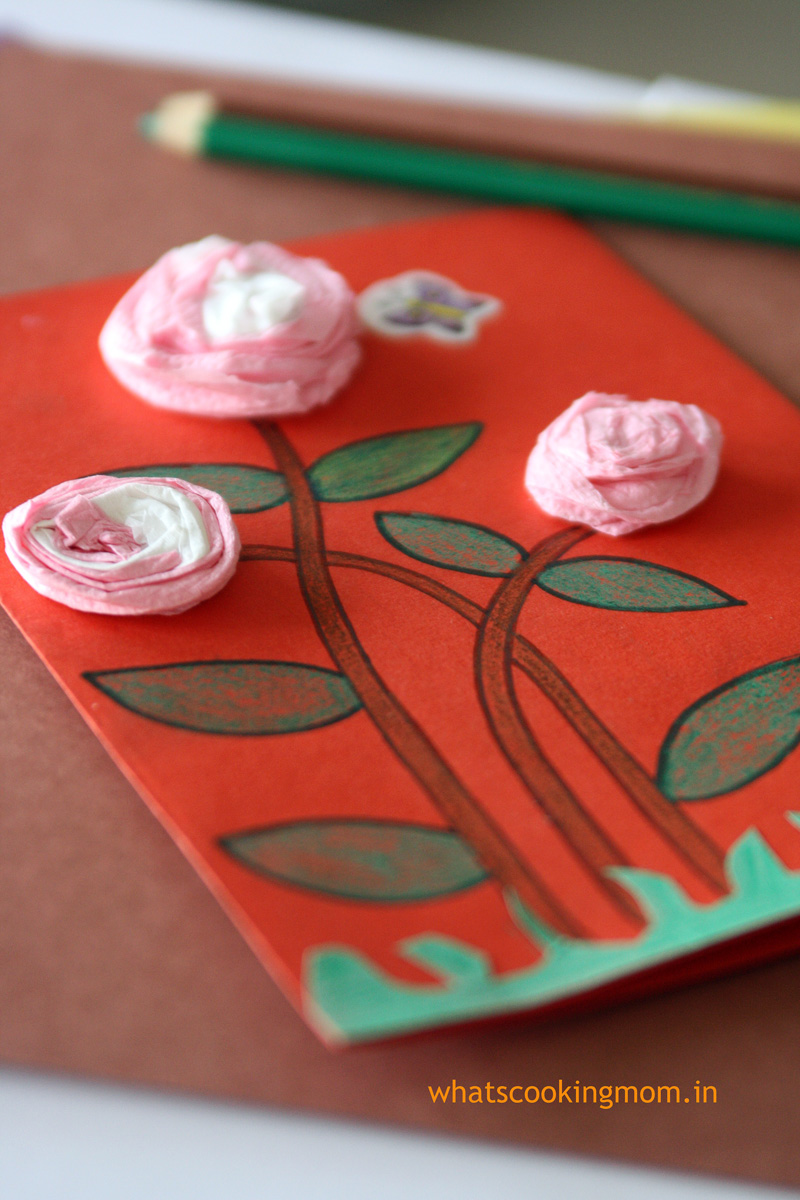 2 easy to make handmade cards | whatscookingmom.in