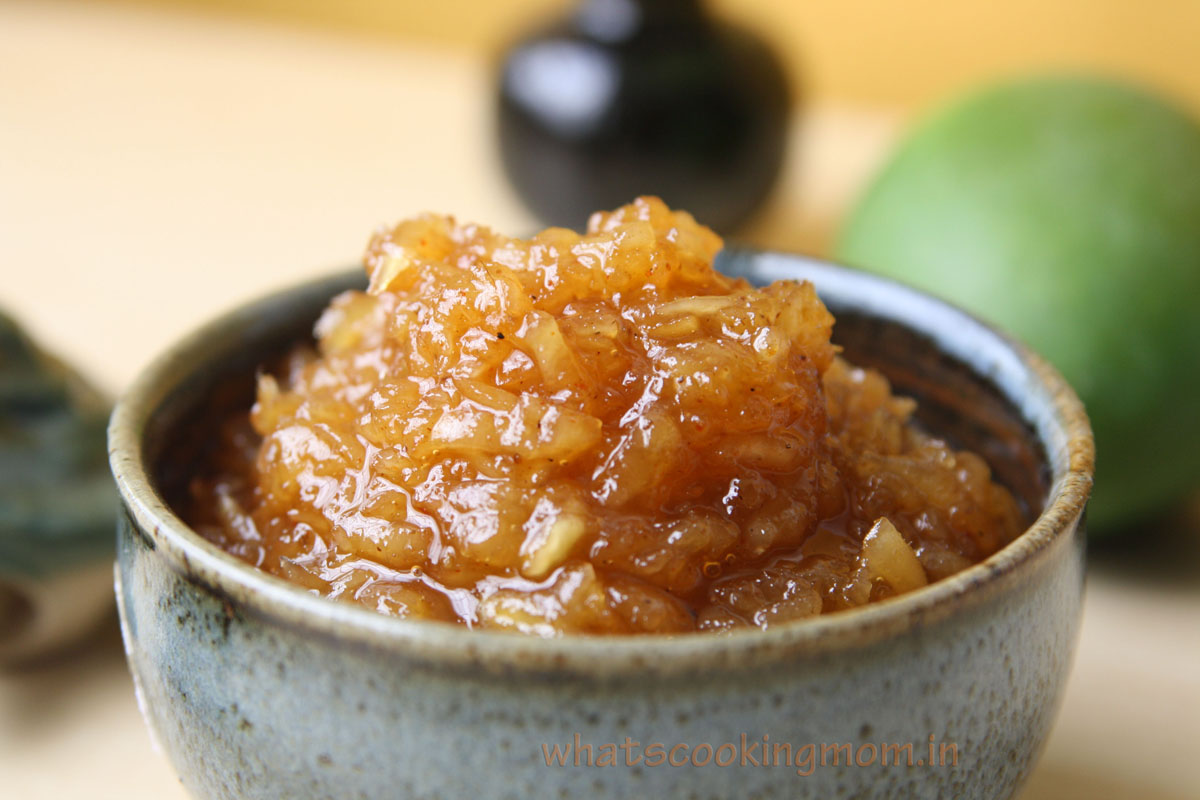 How To Make Sweet And Spicy Raw Mango Chutney Recipe Source: My Mother  Cooking Time: 3040 Minutes