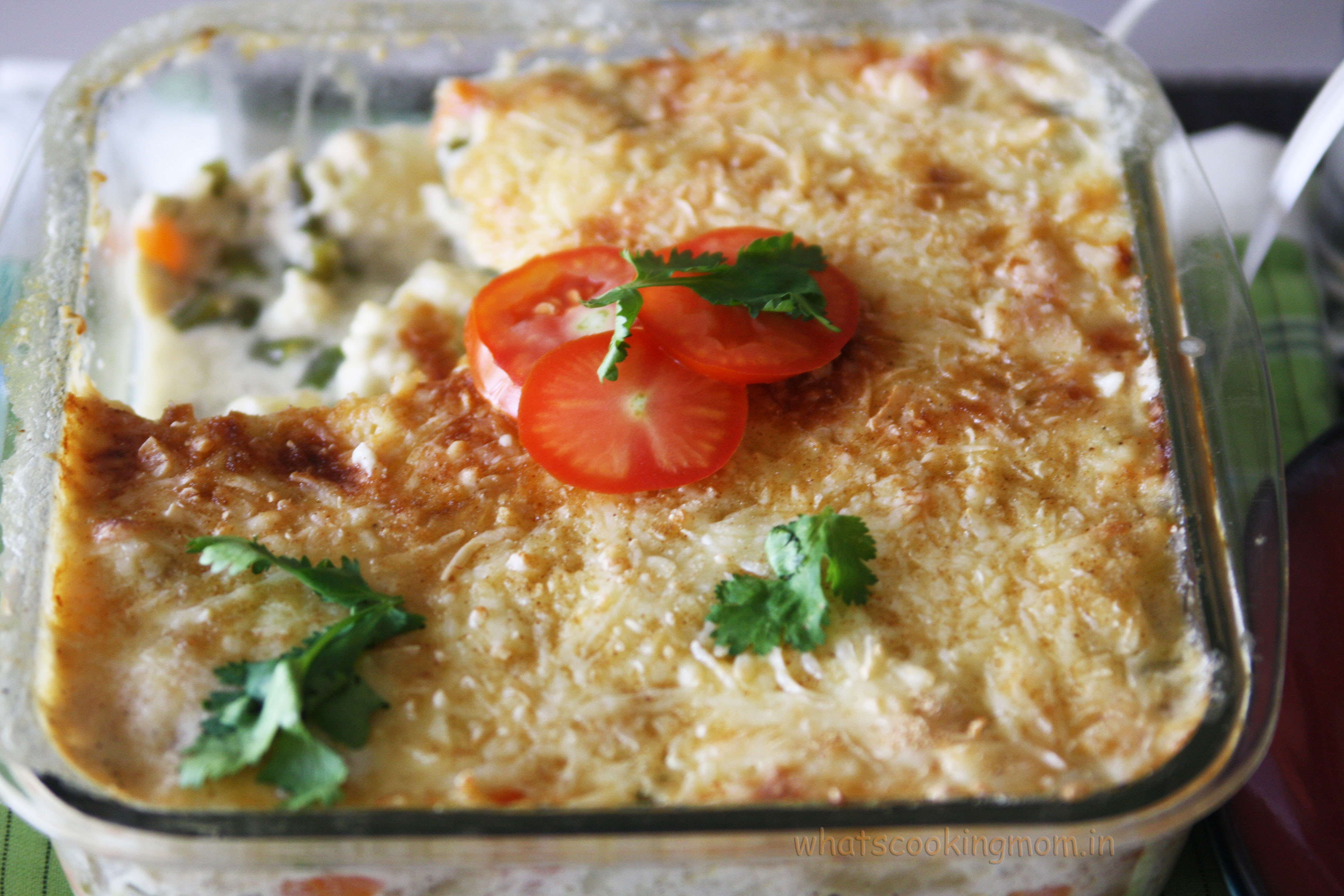 Vegetable au Gratin - whats cooking mom