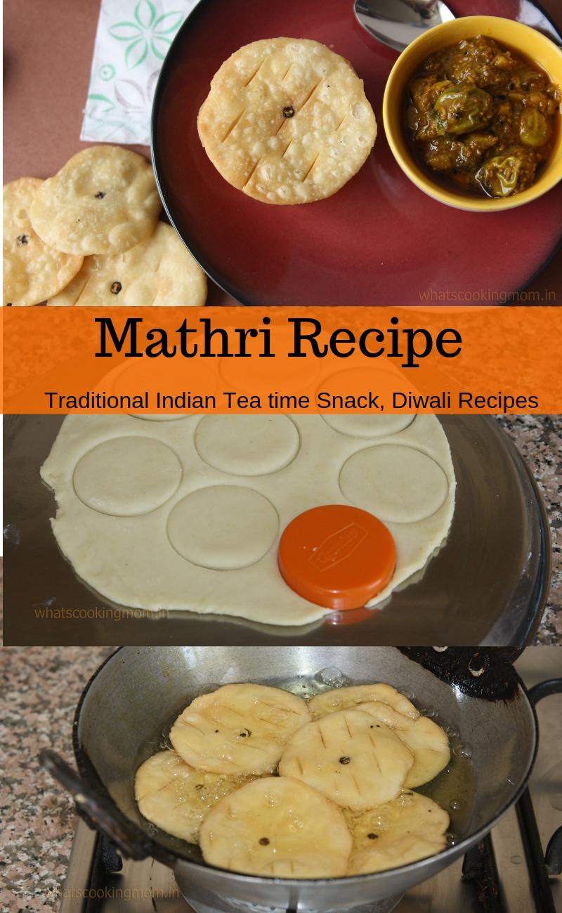 Mathri recipe - Traditional Indian Tea time snack, Diwali snack recipe