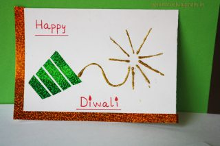 Handmade cards for Diwali