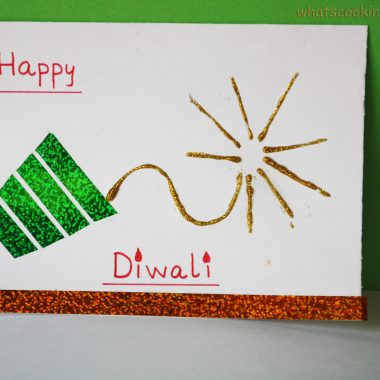 Handmade cards for Diwali