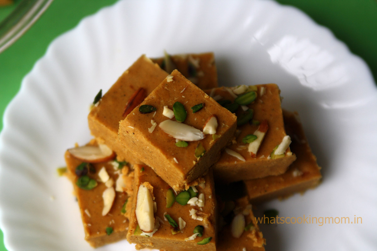 Almond Pistachio Barfi Recipes — Dishmaps