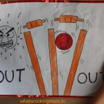 Posters for cricket match