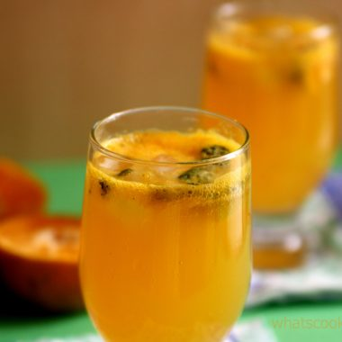 Virgin Orange Mojito