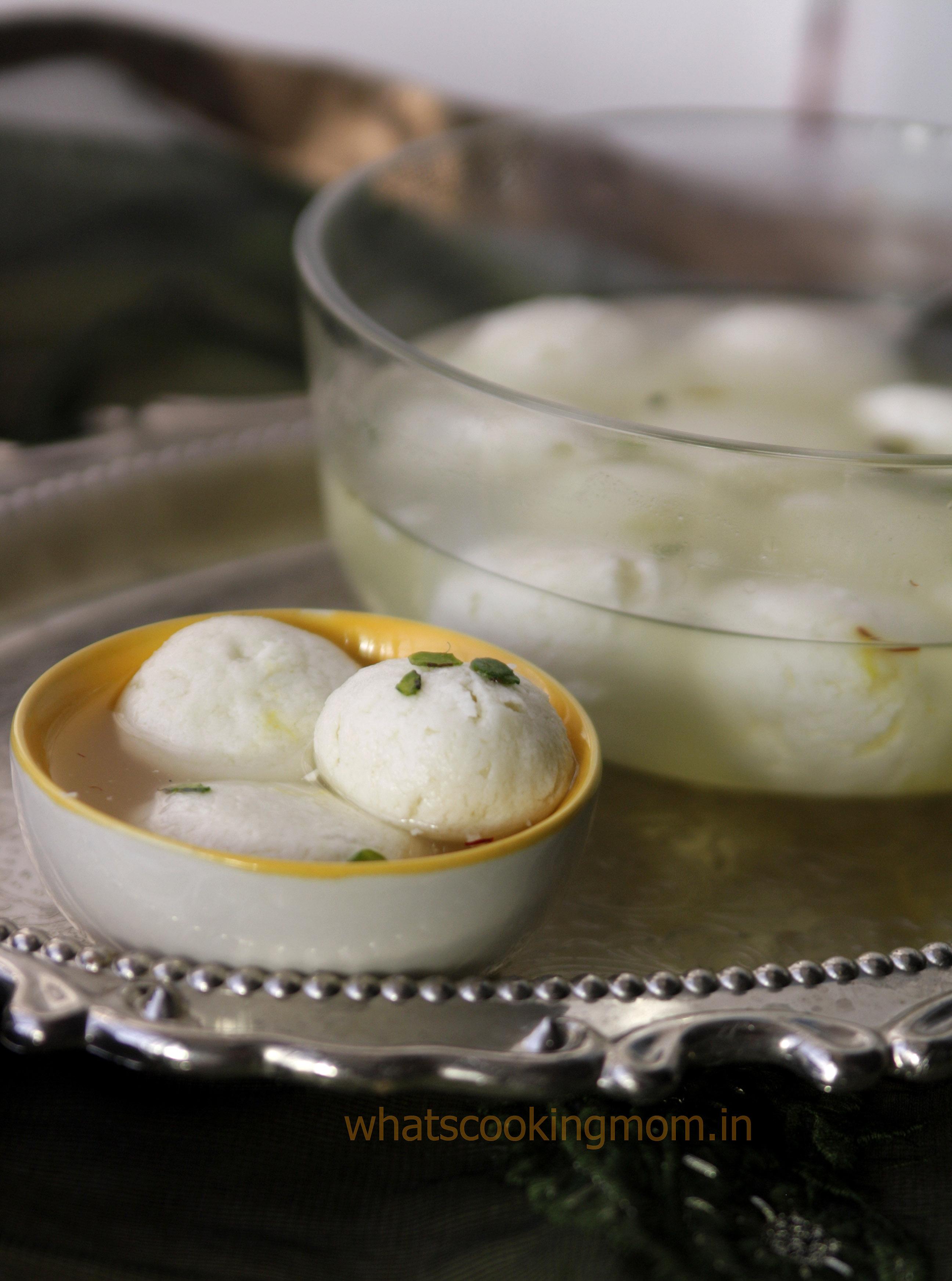 rasgulla - a very popular Indian Sweet