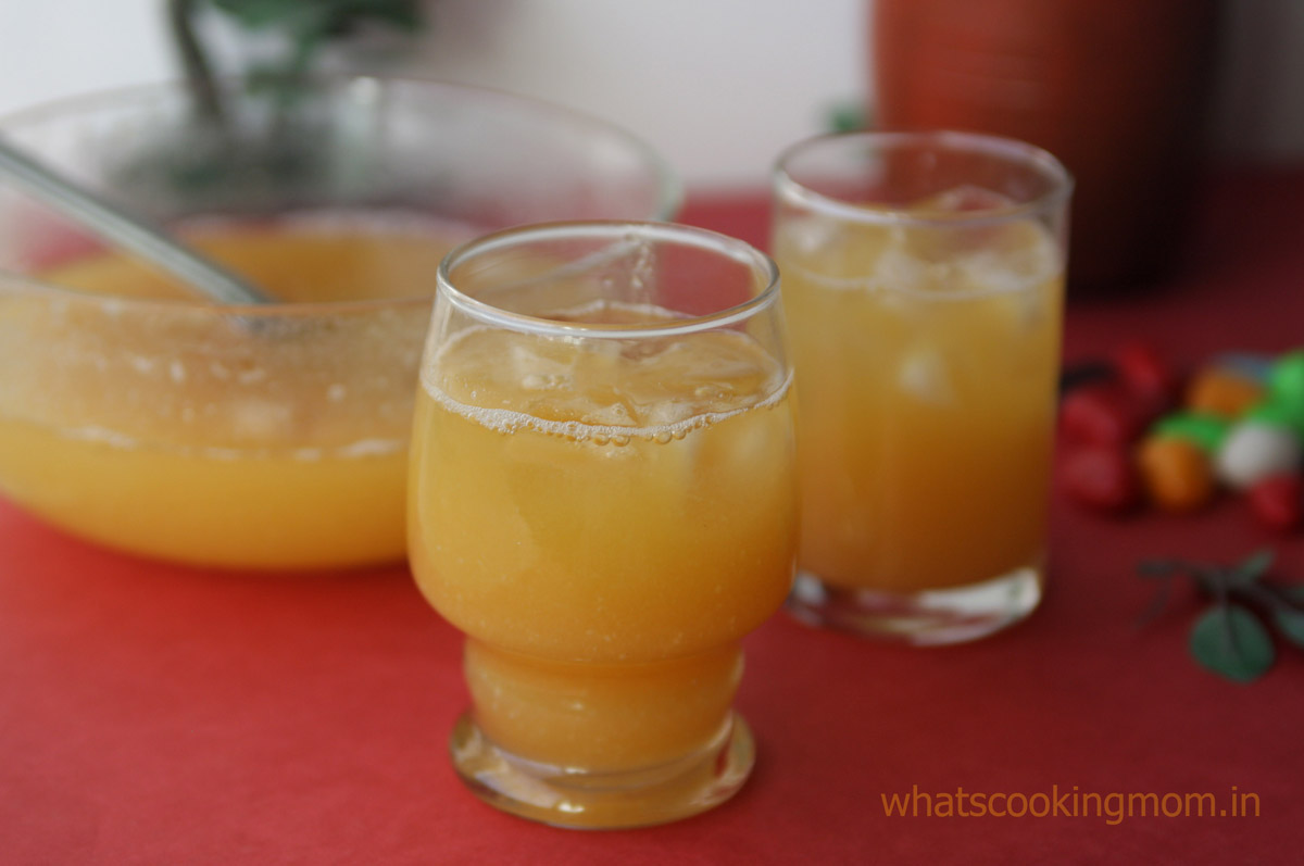 Bel ka Sharbat - It has a very soothing and cool effect on stomach. It has lots of fibre so it is also good for digestion. #drink #summer #indian #bel | whatscookingmom.in
