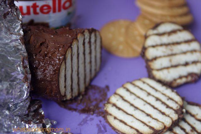 mocha biscuit cake 6