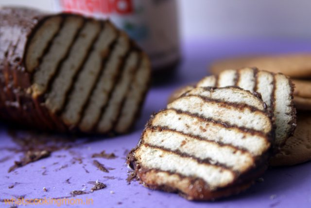 mocha biscuit cake