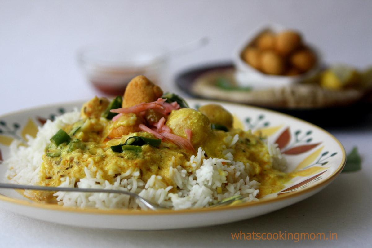 Kadhi Pakodi | whatscookingmom.in