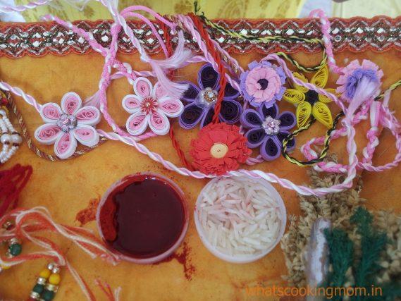 rakhi handmade