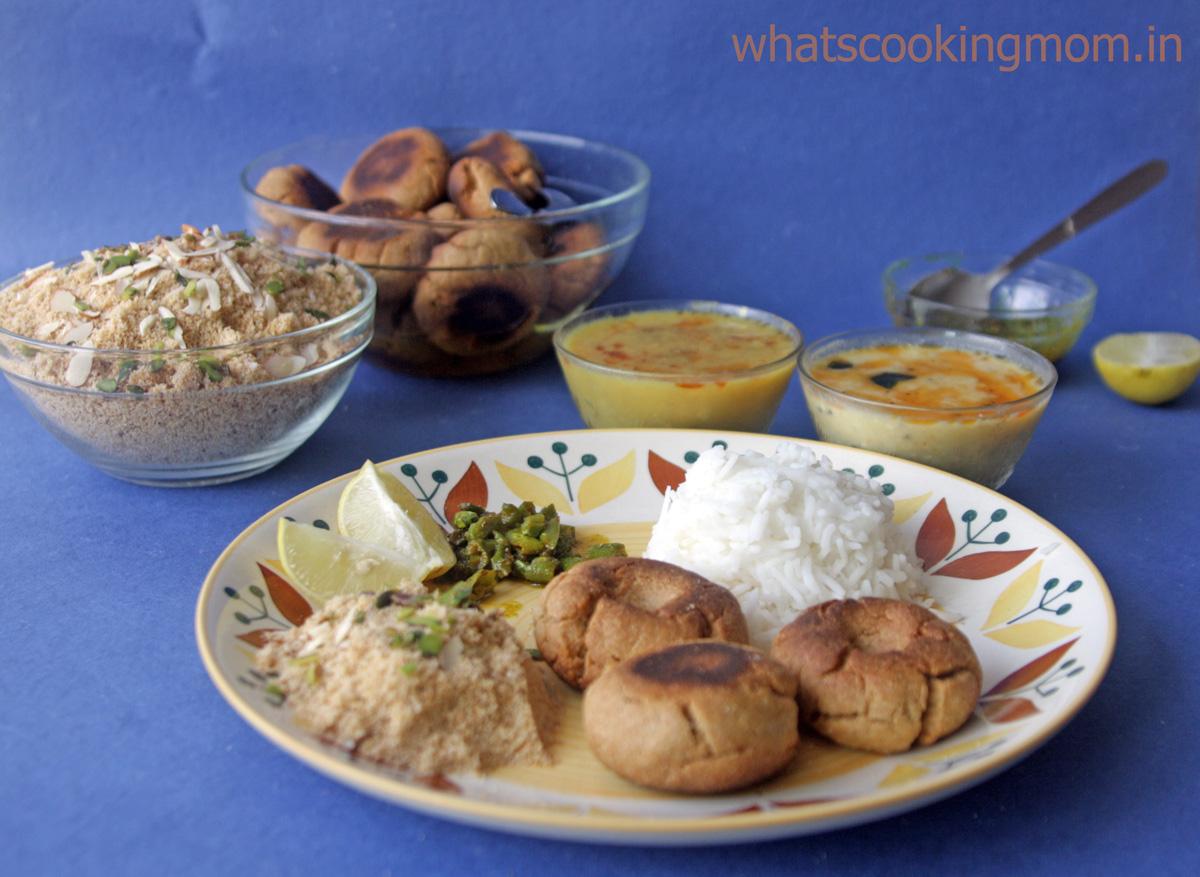 churma with dal baati