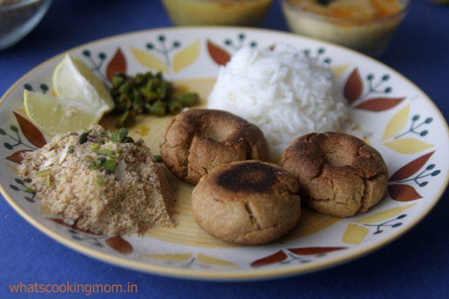 dal baati churma thaali 1
