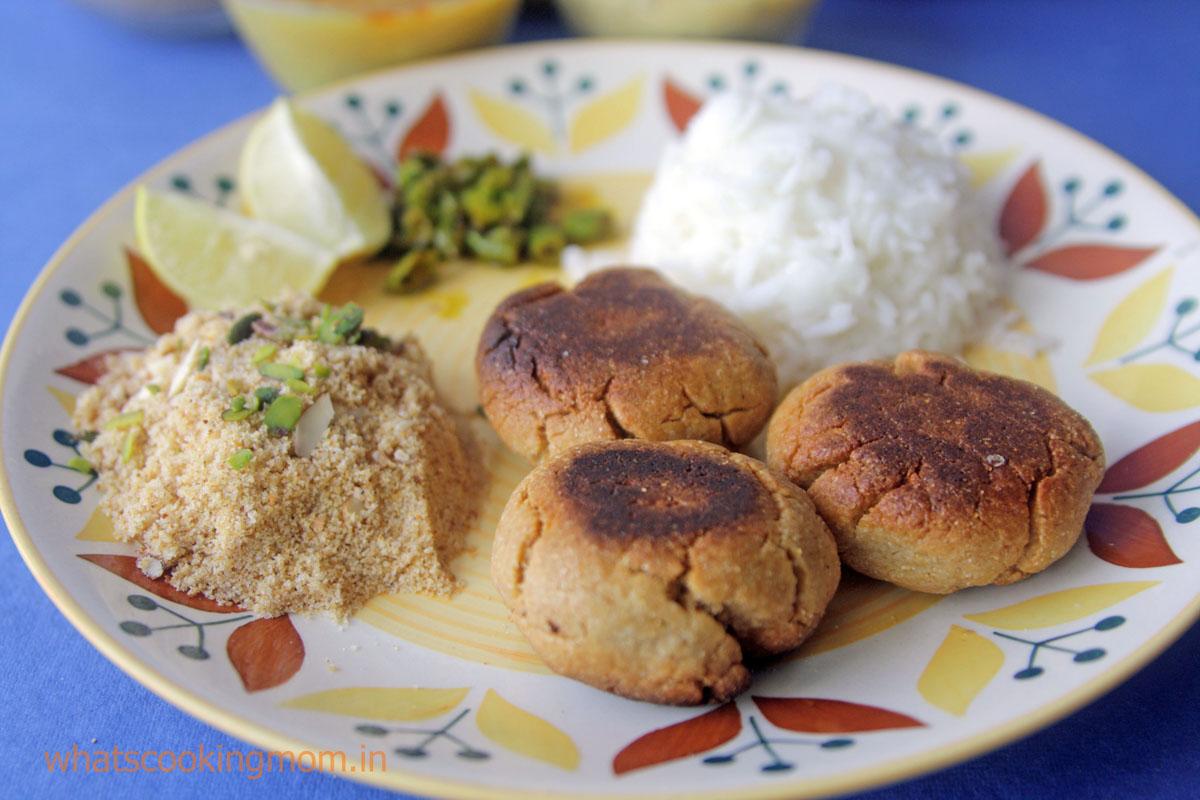 Daal Baati Churma - Traditional Rajasthani food