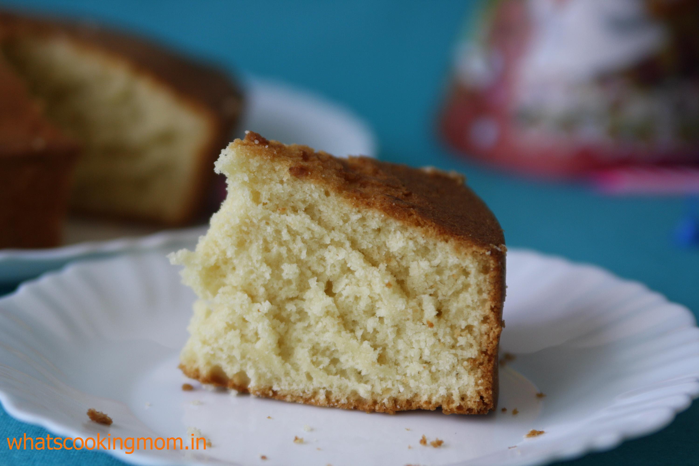 eggless sponge cake 2