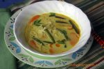 Laksa with homemade Noodles