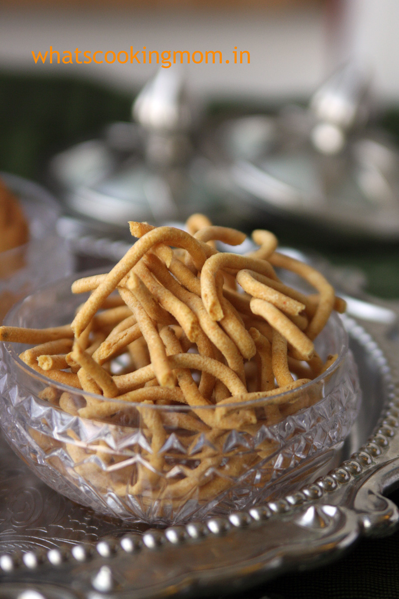 Besan ki Sev #indian #snack #festival #fried #besan | whatscookingmom.in