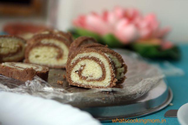 Choco mawa rolls 2