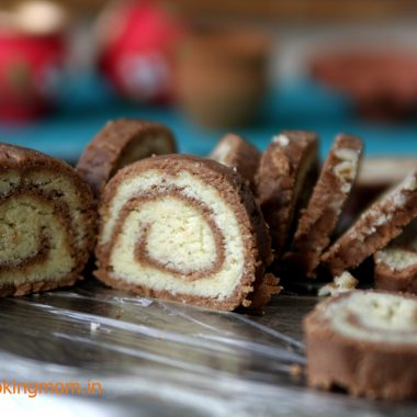 Choco mawa rolls