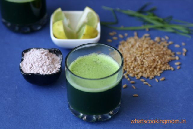wheatgrass juice 2