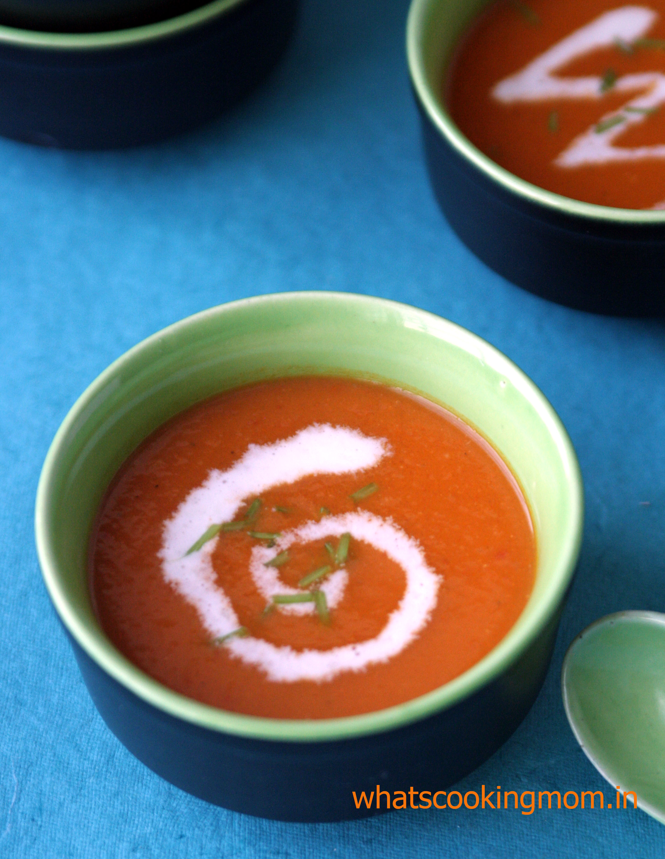 roasted tomato soup 2