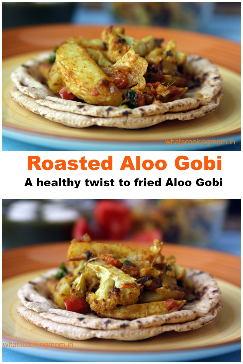 Roasted Aloo Gobi - roasted cauliflower and potato curry