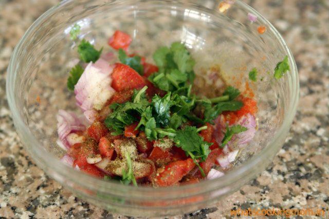 add salad