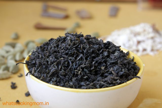 kashmiri green tea