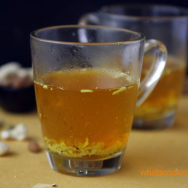 Kahwa – Hot Drink | Healthy winter drink