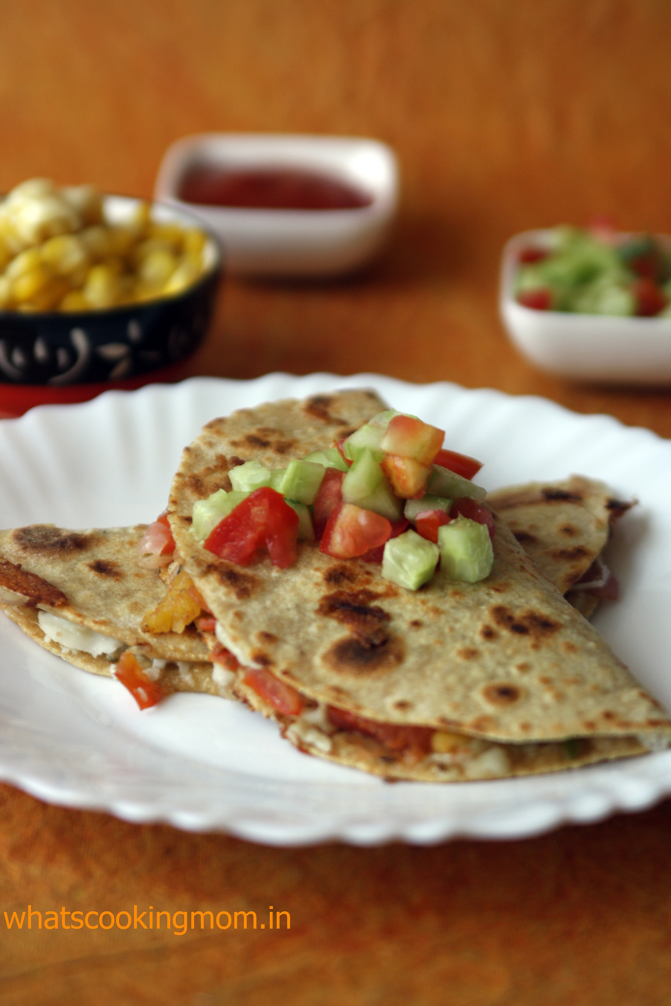 quesadilla vegetarian