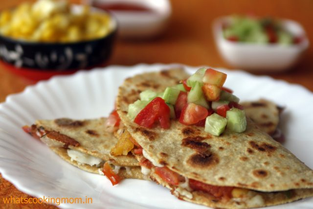 vegetable quesadilla 1