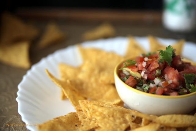 no cook tomato salsa