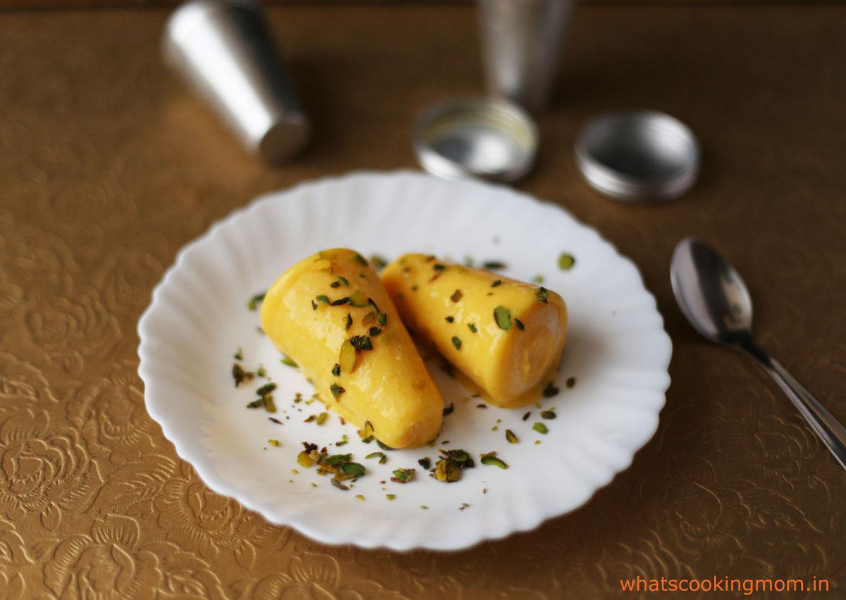 Mango kulfi | whatscookingmom.in