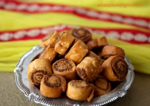 bhakarwadi - traditional diwali recipes, diwali snacks