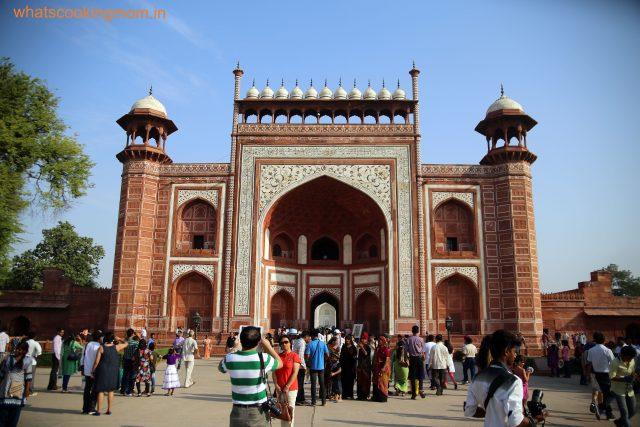 North Darwaza Taj Mahal 1