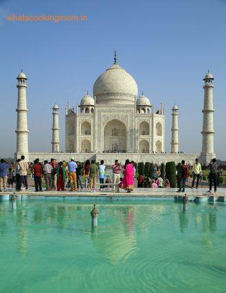 Taj from pool