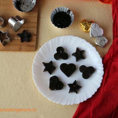 Homemade chocolates - easy recipe, #homemade #chocolate #nobakesweets