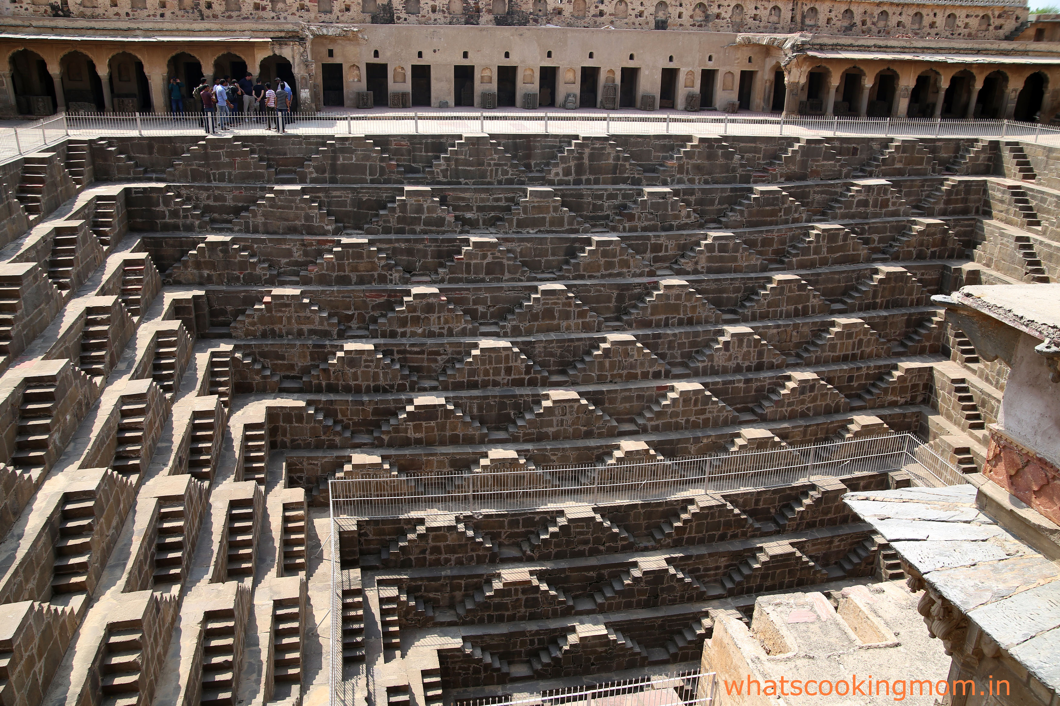 chandbaori stepwells