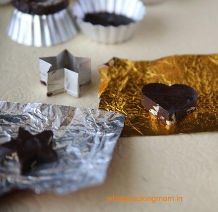 heart shape chocolate 1