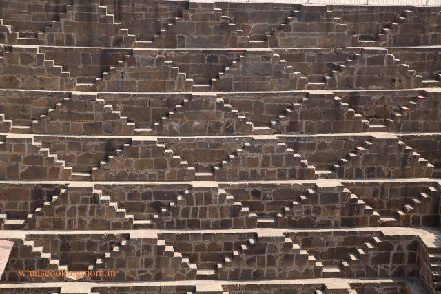 symmetrical steps