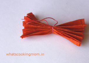 tie thread