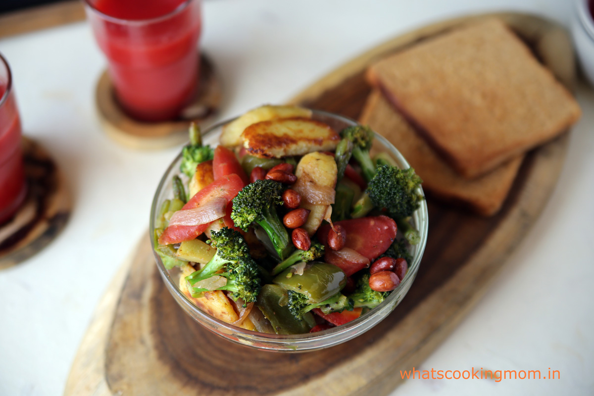 vegetable stir fry - healthy, delicious, nutritious, vegetarian side dish.