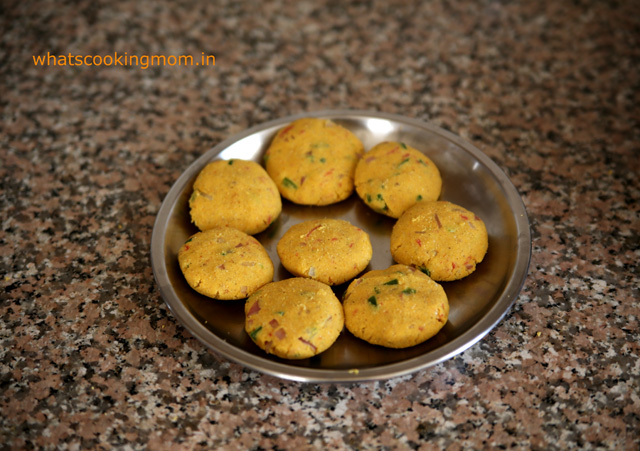 Makka atta cutlet - maize flour cutlets, breakfast, vegetarian, snacks
