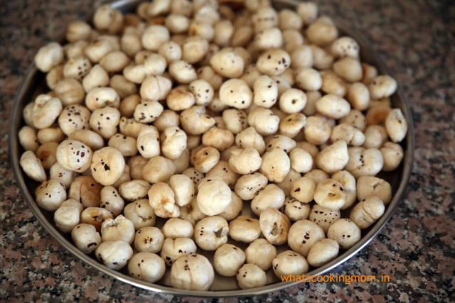 caramelized makhane