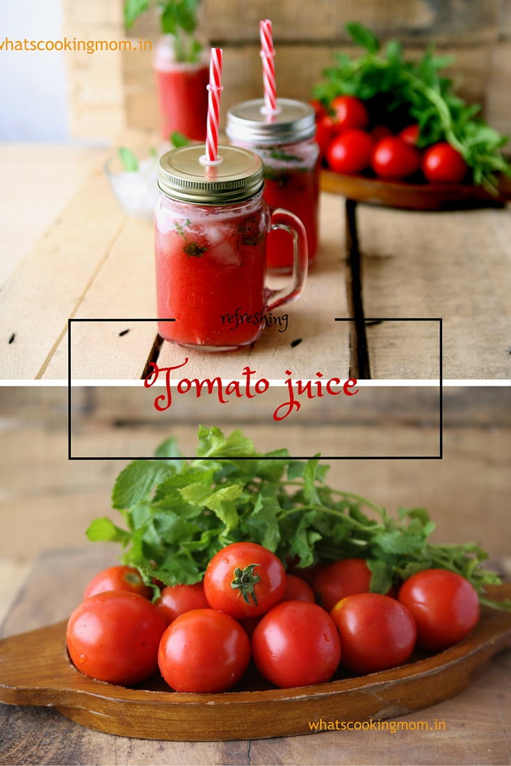 Tomato Juice - whats cooking mom